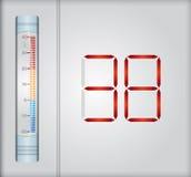 Väderbegrepp Arkivfoton