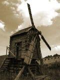 Väderkvarn Arkivfoto