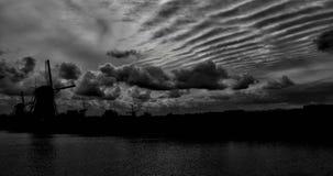 Väderkvarn Arkivbilder