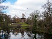 Väderkvarn av Bremen royaltyfria bilder
