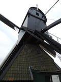 Väderkvarn av världsarvet Kinderdijk, Nederländerna royaltyfria foton