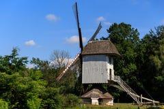Väderkvarn Bokrijk Belgien Royaltyfri Foto