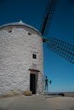 Väderkvarn för Don Quijote ` s Royaltyfri Fotografi