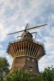 Väderkvarn i Amsterdam Royaltyfri Bild