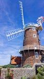 Väderkvarn i Norfolk, England Royaltyfria Bilder