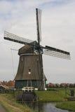 Väderkvarn Nederländerna Royaltyfri Fotografi