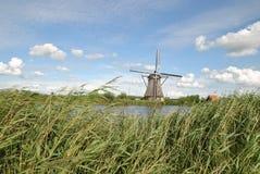 Väderkvarnar av Kinderdijk 2 Royaltyfri Foto