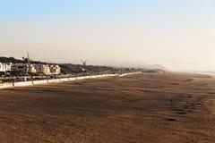 Väderkvarnar och havkust i San Francisco Royaltyfria Bilder
