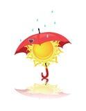 Vädersymboler Royaltyfri Bild