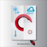 Vädret och säsongerna Fotografering för Bildbyråer