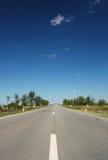 väg 05 Arkivfoton