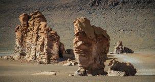 Väg 23, Atacama öken, nordliga Chile Royaltyfria Bilder