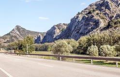 Väg av Asturias Arkivfoto