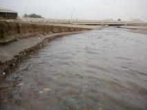 Väg av det arabiska havet Arkivfoton