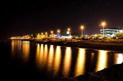 Väg av havsnatten Royaltyfri Fotografi