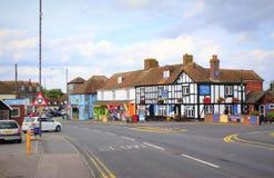 A259 väg Dymchurch Kent United Kingdom Fotografering för Bildbyråer