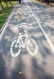 Väg för cyklar Royaltyfri Bild