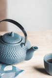 Väg för tetidzen, asiatisk estetik Arkivbilder