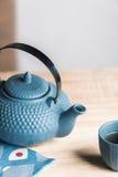 Väg för tetidzen, asiatisk estetik Fotografering för Bildbyråer