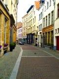 Väg i Amsterdam Arkivfoton