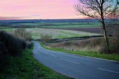 Väg i Bedfordshire Royaltyfri Foto