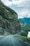 Väg i bergen Royaltyfri Foto