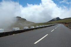 Väg i den Madeira ön Royaltyfri Foto
