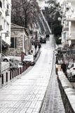 Väg i Izmir Turkiet Arkivfoto