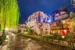 Väg i Kyoto Fotografering för Bildbyråer