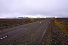 Väg Island Arkivbilder