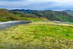 Väg 1 och landskap Arkivfoton