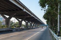 Väg och motorväg Royaltyfria Bilder