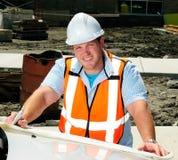 väg-och vattenbyggnadsingenjör Arkivfoto