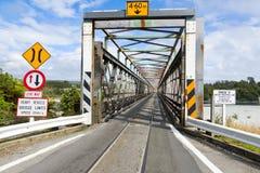 Väg-stång bro Fotografering för Bildbyråer