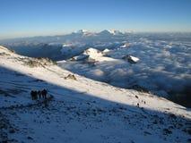 Väg till Aconcagua Royaltyfri Fotografi