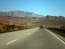 Väg till Arizona Royaltyfri Fotografi