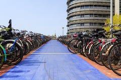 Väg till att cykla himmel Royaltyfri Fotografi