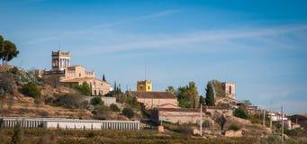 Väg till Barcelona arkivbilder