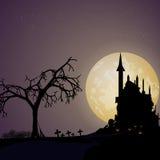Väg till halloween Arkivfoton