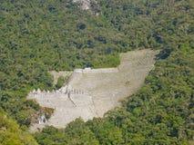 Väg till Machu Picchu, Perú Arkivbilder