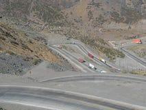 Väg till Mendoza Royaltyfri Fotografi