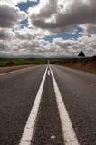 Väg till Oudtshoorn Fotografering för Bildbyråer