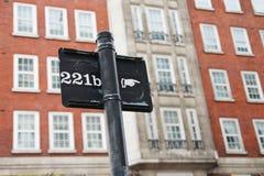 Väg till Sherlock Holmes Royaltyfri Foto