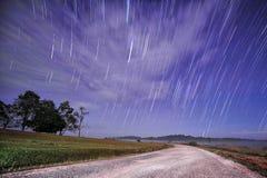 Väg till stjärnasvansen Arkivbild