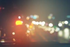 Väg Urban för inte rörande trafik för bilstorstadpropp Arkivfoton