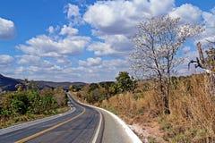 Vägar avslutar skay av Brasilien Arkivfoton