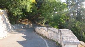 Vägar och huvudvägar Arkivfoto