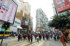 VÄGBANKFJÄRD, HONG KONG-FEBRUARY 18, 2018 - vägbankfjärden är Hong arkivfoton