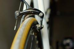Cykeln bromsar royaltyfria foton
