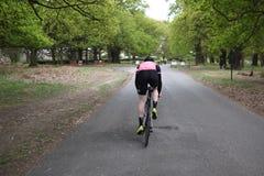Vägcyklist royaltyfri fotografi